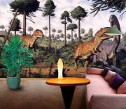 3d Prehistoric Dinosaur Zhua1088 Wallpaper Wall Murals Removable Self-adhesive
