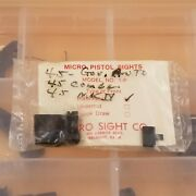 Micro Sights 1-p Post Front .300/ Rear Combo Colt 1911 Government Commander Mkiv