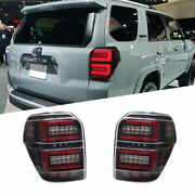Led Tail Lights For Toyota 4runner 10-20 Sequential Signal Smoke Replace Oem
