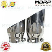 Mbrp T5111 4 Inlet 5 Tip Cover Set - 6¾ And 9¾ In Length, T304 F250/350/450