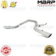 Mbrp S6006al For Chevy/gmc 2500/3500 4down Pipe Back Cool Duals Off-road 01-07