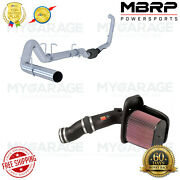 Mbrp Exhaust System + Kandn Cold Air Intake Kit For F-250 Super Duty 6.0l Diesel