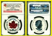 2015 Silver Canadian Maple Ngc Rv Pf 70 Uc Early Release 5 Coin
