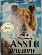 1944 Lassie Come Home Hc Book By Eric Knight, Illustrated By Marguerite Kirmse