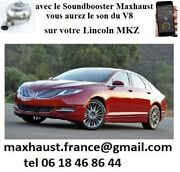 Active Sound Mahxaust Lincoln Mkz Town Bluetooth 8 Sons Pop Bang Andagrave Partir 1250andeuro