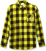 Foco Flannel Long Sleeve Button Up Shirt