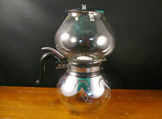 Vintage Silex Double Bubble Glass Coffee Maker Pot Uw-8 And Lw-8m