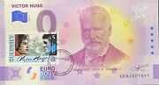 Ticket 0 Euro Victor Hugo L'exile A Guernessey 6 Tickets N°1851 To 1856 Insert