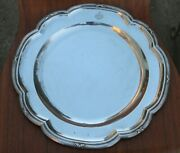 Heavy Antique Austria Hungary 800 Silver 14 Tray Plate 967 Grams