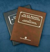 1924-1964 Mercury 20 And Roosevelt 19 Dime Collectors Book Sets From Pcs