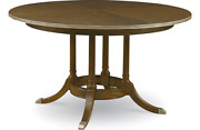 Drexel Heritage 54and039 Round Narrative Dining Table Olio Collection