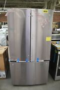 Ge Gne29gynfs 36 Stainless French Door Refrigerator Nob 104697