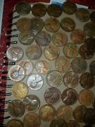 Wheat Cent Lot Of 65 Coins All Of Them Are Toned U Must See Them