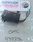 P43a Johnson Evinrude Omc 437236 Primer Solenoid Oem New Factory Boat Parts