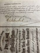 New Jersey Junction Pacific Railroad Company Signed By J.p. Morgan Psa Dna