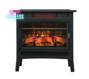 Duraflame 3d Infrared Electric Fireplace Portable Indoor Space Heater Black New
