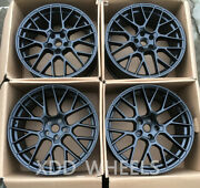 20 Satin Black Style Forged Wheels Rims Fit For Porsche 991 Carrera S 20x9/11.5