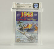 1943 The Battle Of Midway Nintendo Nes 1988 Capcom New Sealed Wata Graded 8.0 A