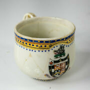 Antique Chinese Export 18th Century Handled Cup Mug Armorial Boars Head