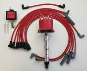 Chevy Camaro Caprice 87-93 5.7l 5.0l Tpi/tbi Distributor + Red 8.5mm Wires +coil