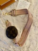 Authentic Louis Vuitton Multi Pochettes Bandouliere Strap Pink With Coin Purse