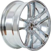 4 G38 18 Inch Chrome Rims Fits Mercedes C-class 202 Non Amg 2000