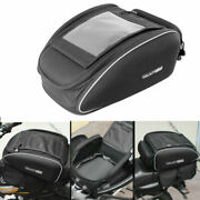 Touring Large Expandable Motorcycle Tail Seat Bags Tailbag W/ Rain Cover Large