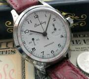 Breitling Antique Manual Winding Menand039s 1950and039s H656