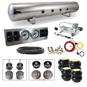 65-72 Mercedes W108 Air Ride System - Stage 1 - 1/4 Manual Control 4 Path