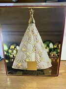 Lenox Florentine And Pearl Musical Centerpiece Tree