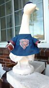 Goose Clothes 4 Lawn Geese Chicago Bears Football Lawn Cement Plastic Comb Ship