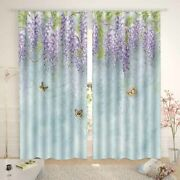 Green Surprise Level 3d Curtain Blockout Photo Printing Curtains Drape Fabric