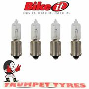 12v 21w Bulbs Bay9s T8.5 E-marked For Mini / Spear Indicators 4 Pieces Blb28