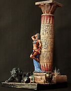 Tin Soldier 54mm Superb Elite Painting In St.petersburg.egyptian Girl