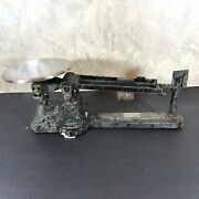 Vintage Ohaus Triple Beam Balance Scale Nonworking For Parts Or Repair