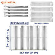 Grill Burner Heat Plate Cooking Grate For Home Depot Nexgrill 720-0888 720-0830h