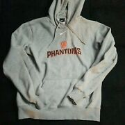 Size Medium W Phantoms Nike Center Check Swoosh Hoodie Wisconsin Travis Scott
