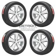 20 Jeep Grand Cherokee Pvd Bright Chrome Wheels Rims And Tires Oem Set 4 201...
