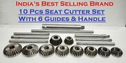10 Pcs Valve Seat And Face Cutter Set With Box Best Quality In India Hd Hq