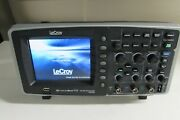 Lecroy Waveace 112 Oscilloscope 100mhz 2ch 500ms/s 4kpts/ch W/ 2 Pp016 Probes
