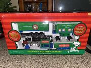 Peanuts Battery Operated Train Snoopyandrsquos Holiday Express