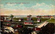 Postcard Officers Quarters Fort Ontario Oswego Ny
