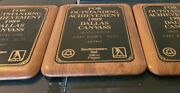 3 Awards Southwestern Bell Yellow Pages Atandt Dallas Texas 1989 Wooden Rhodes