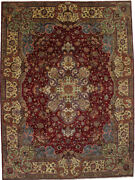 Palace Size Traditional Floral Design 11x15 Signed Oversized Rug Oriental Carpet