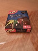 Harry Potter Uno Card Game Mattel Ages 7+ 2 -10 Players Brand New And Sealed