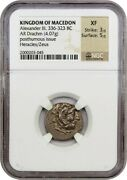 Ancient Greek Alexander Iii Coin Ngc Cert 4.07g Free Shipping W/tracking 8262n