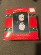 Enesco Christmas Ornament One Foggy Christmas Evespectacles Mice 3rd New