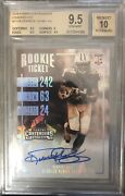 2016 Contenders Sepia Cracked Ice Derrick Henry Auto Rc 16/24 Bgs 9.5/10