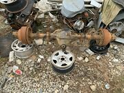 87-97 Ford F - 350 Dually Rear Axle Differential Drw 3.55 Chassis Cab W/abs Drum