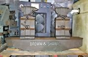 32 Brown And Sharpe Bench Centers 30 Swing X 32 W/4x 5 Removable Riser Blocks